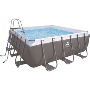 PISCINE Piscine tubulaire carrée JILONG Passaat 300x300 -