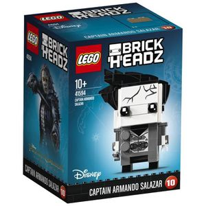 ASSEMBLAGE CONSTRUCTION LEGO® BrickHeadz 41594 Capitaine Armando Salazar