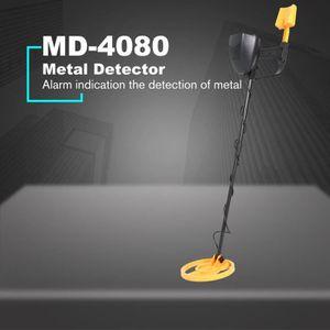 DÉTECTEUR DE MATÉRIAUX LESHP® Détecteur de métaux MD-4080 - Scanner doré