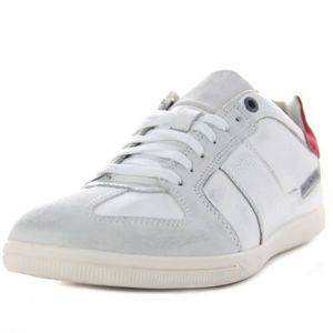 BASKET DIESEL baskets cuir CHILL OUT blanc