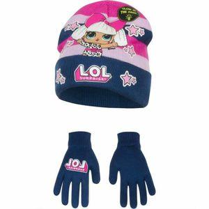 BONNET - CAGOULE Ensemble LOL SURPRISE bonnet gants enfant fille