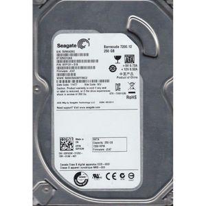 DISQUE DUR INTERNE SEAGATE disque dur Barracuda 7200.12 250GB, 3,5