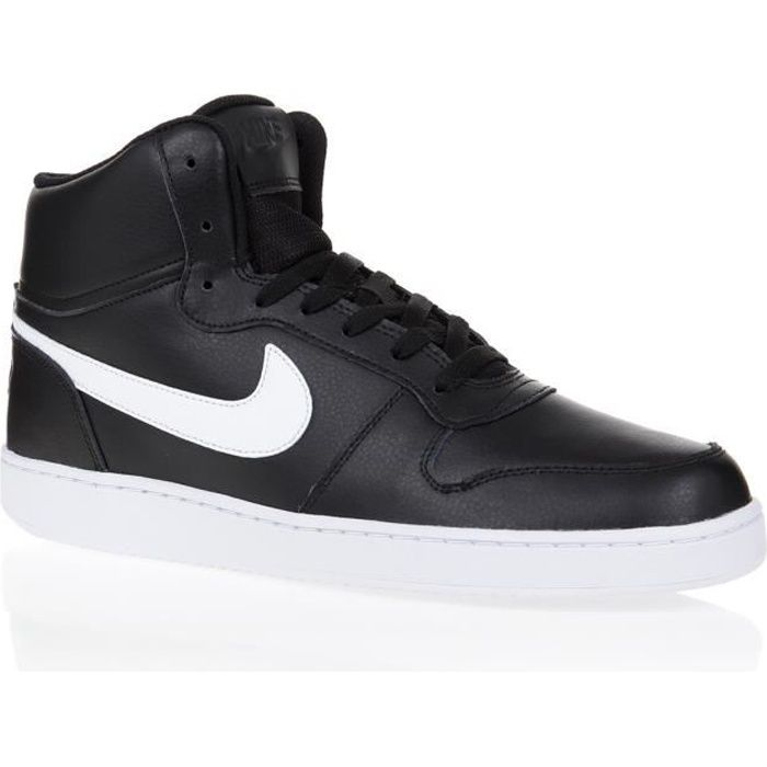 low priced ad112 ae10c NIKE Baskets Ebernon Mid - Homme - Noir et blanc