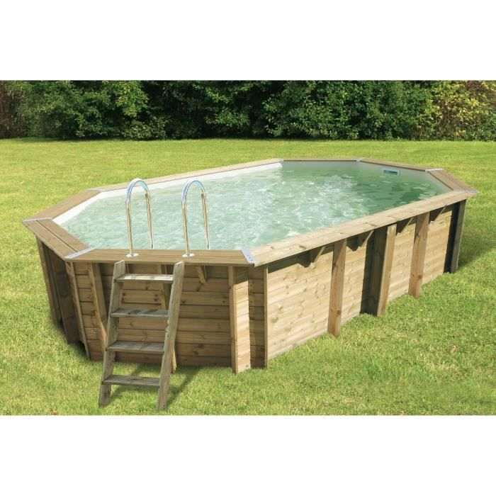 Ubbink azura piscine bois sable 3 55x5 50x1 20 m achat for Destockage piscine bois
