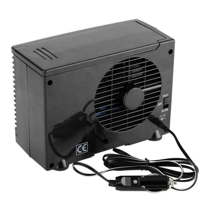 12V Mini Climatiseur de Refroidissement Automatique avec la Prise Allume-Cigare Ventilateur de Voiture-LAT
