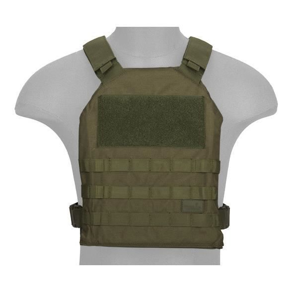 GILET AIRSOFT STANDARD ISSUE PLATE CARRIER 1000D OD Lancer tactical