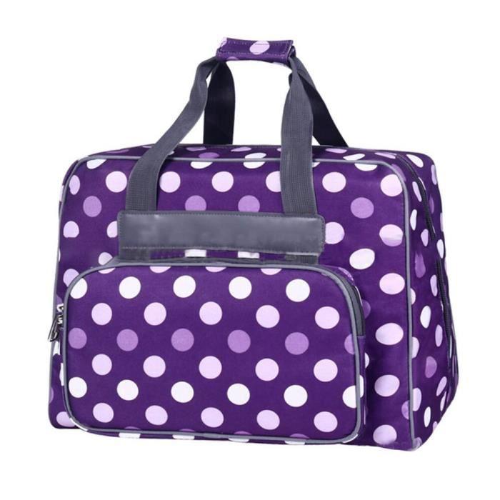 MACHINE A COUDRE,Machine à coudre paquet spécial sac haute capacité Portable fourre tout Oxford tissu sacs de rangement - 01