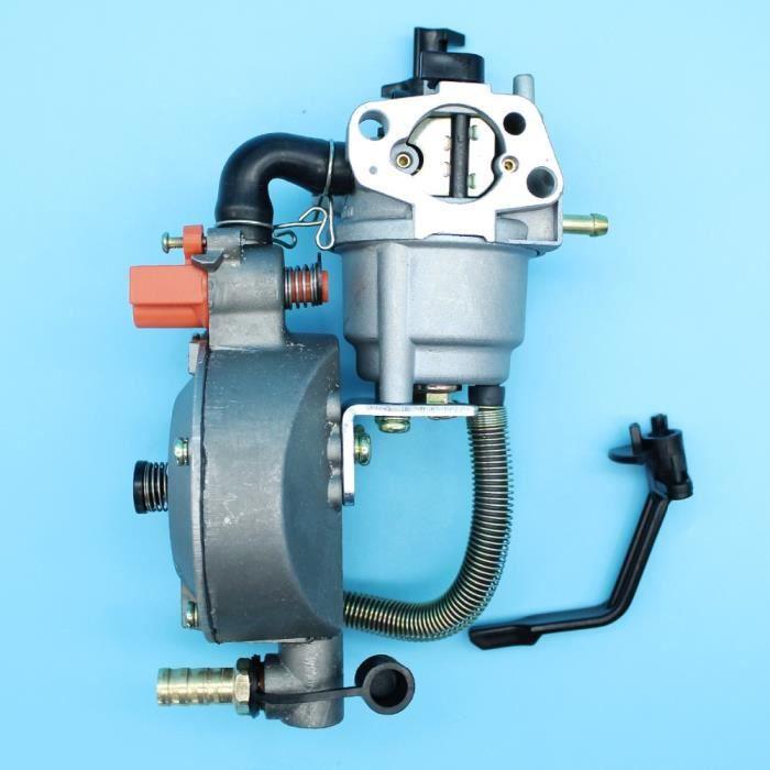 Kit de Conversion de carburant double carburateur pour Honda GX160 GX200 168F 170F 2KW 3KW générateur moteur gpl-CNG essence Carb