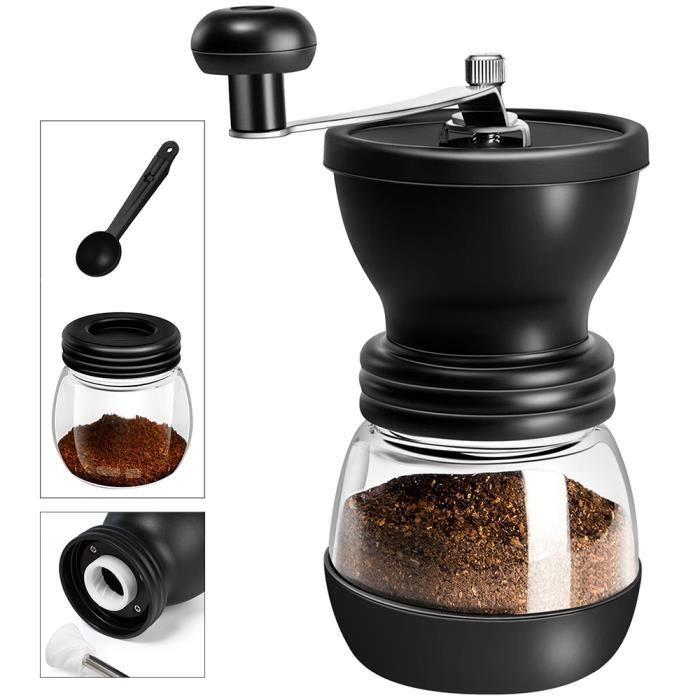 Moulin à café Manuel,broyeur cafe grain pour moudre les graines de café et graines.