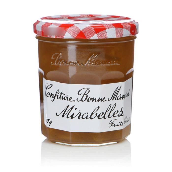 BONNE MAMAN Confiture Mirabelles - 370 g