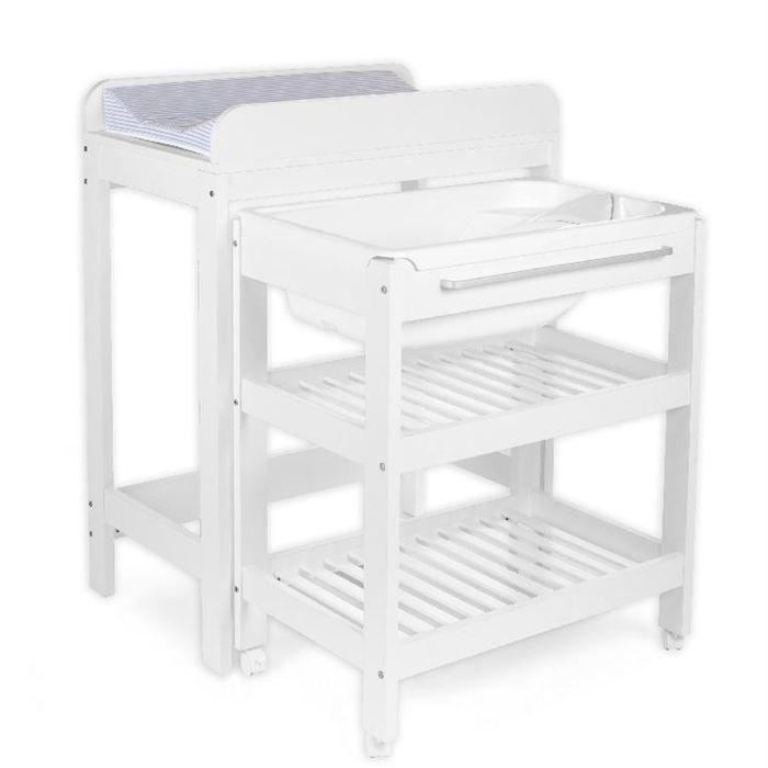 Table à Langer + baignoire et place pour tummy tub