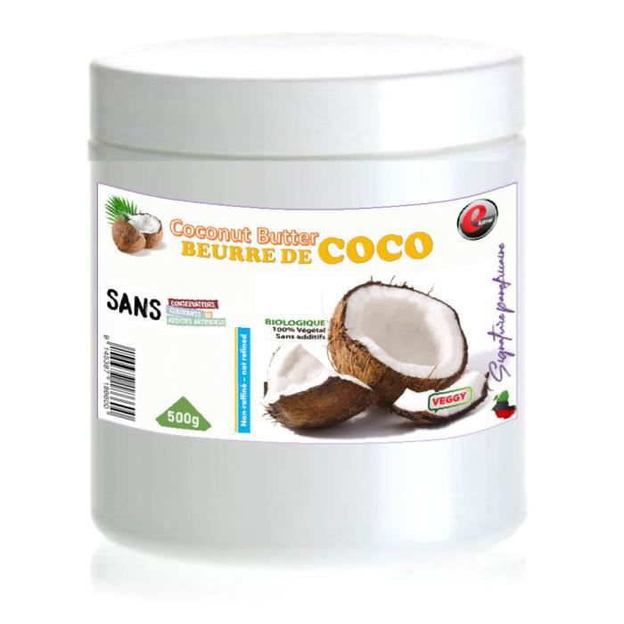 Huile de coco- sélection panafricaine - 500g