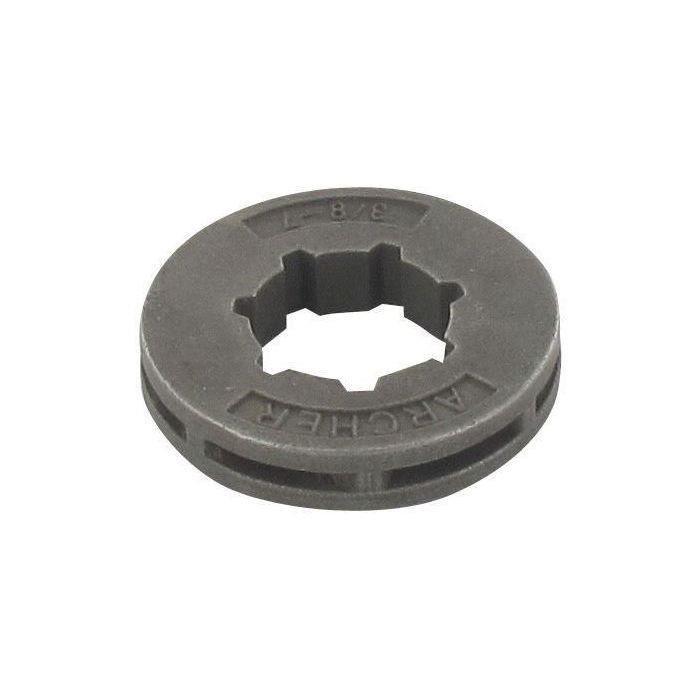 Bague pour cloche d'embrayage de tronçonneuse (Pas: 3/8-, 7 dents, modèle: mini)
