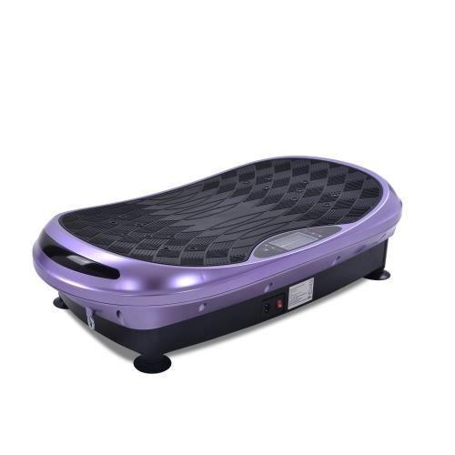 KirinSport 4D Vibration plate par Vibrations pour l'entraînement Complet du corps avec Télécommande portable 3 Moteurs Violet