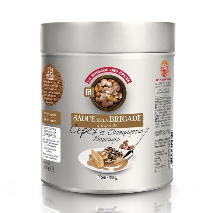 Sauce Cèpes et Champignons Sauvages de France - 500 g -