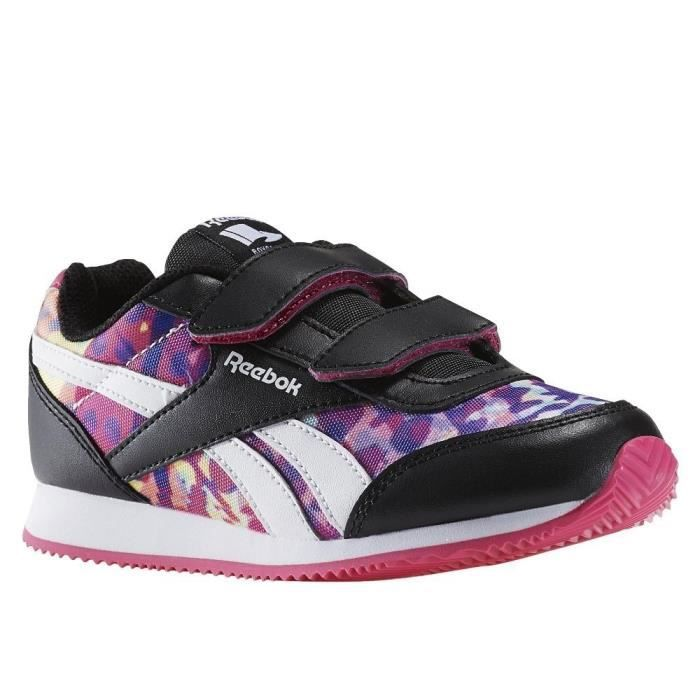 Chaussures Reebok Royal Cljog Blackpinkwhite