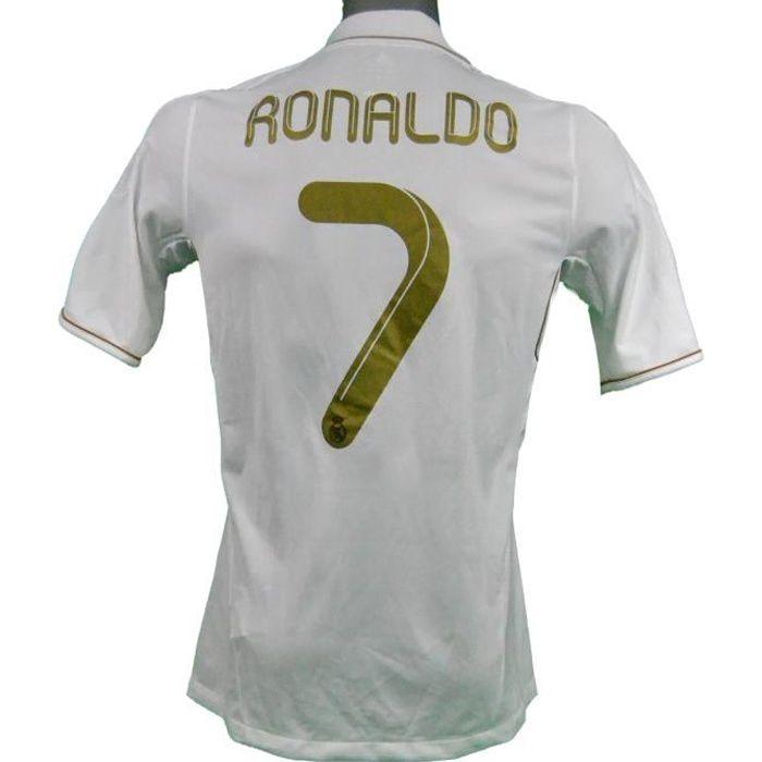 Maillot domicile Real Madrid 2011/2012 Ronaldo