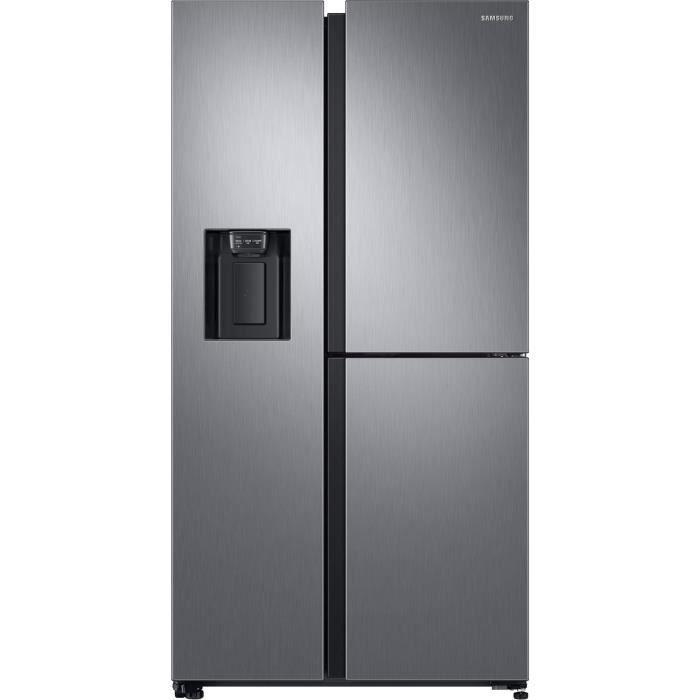 Samsung - réfrigérateur américain 91.2cm 608l a++ nofrost platinum - rs68n8651s9