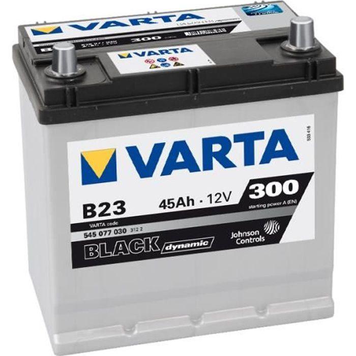 Agricoles En Varta Promotive Black I6 Batterie Poids Lourds Travaux Publics 12 V 110Ah 850 Amps