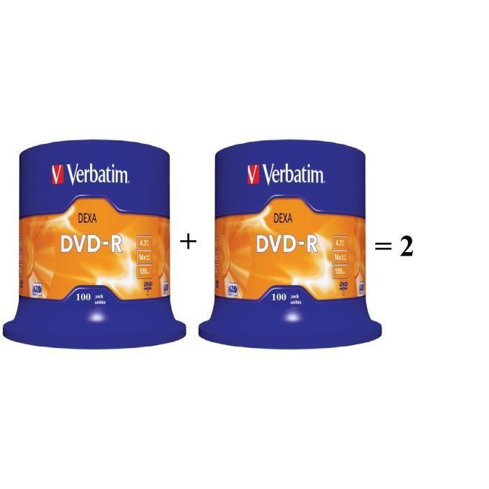 200 DVD-R Verbatim