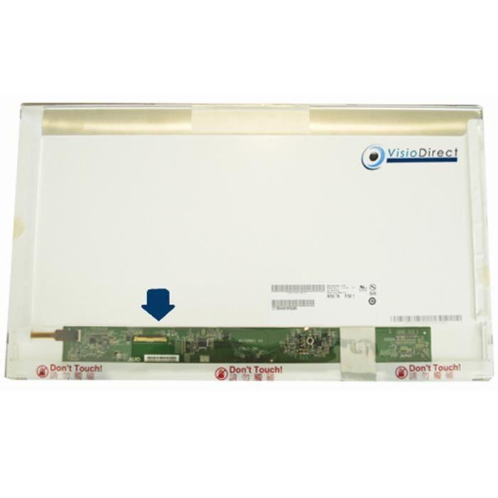 Dalle Ecran 17.3- LED pour Toshiba Satellite L555-12X 1600x900 40 pin