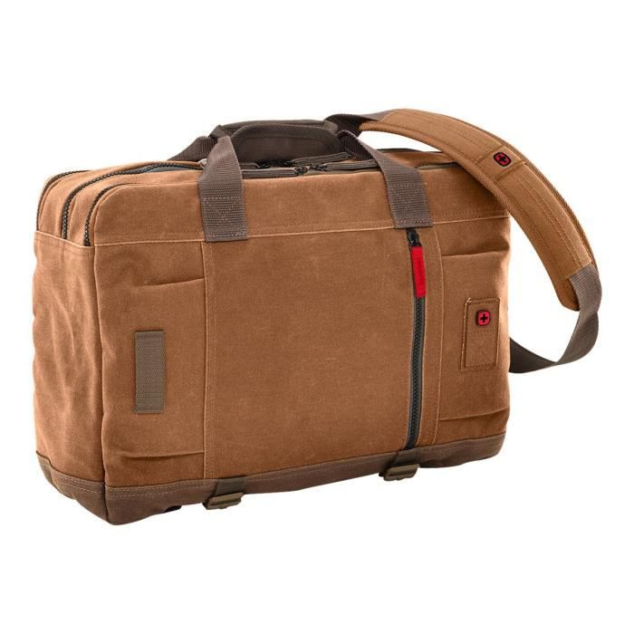 Wenger Mandria Convertible Sac à dos-marin pour ordinateur portable 16- brun moka