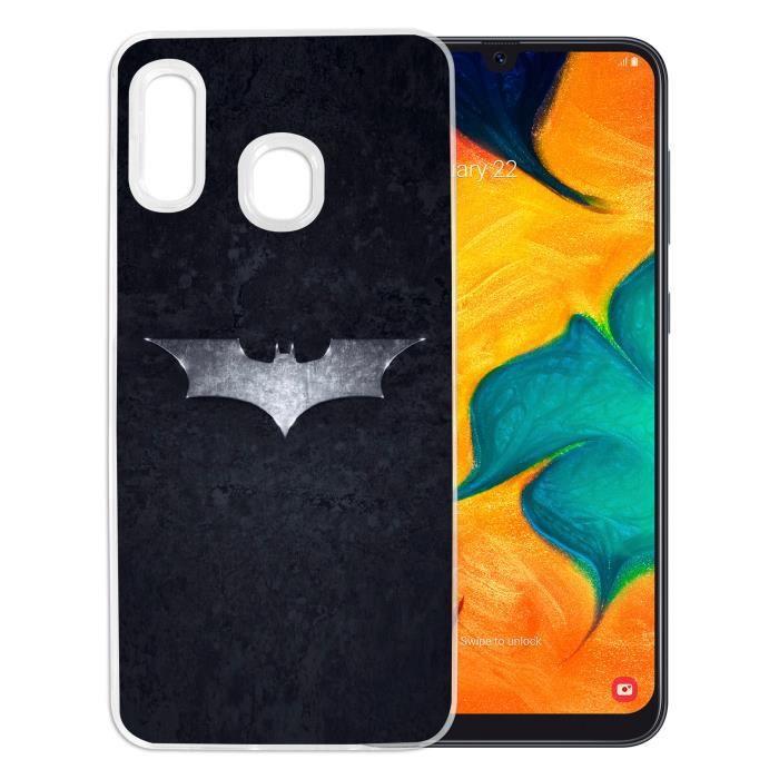 Coque pour Samsung Galaxy A20e - Batman Logo Dark