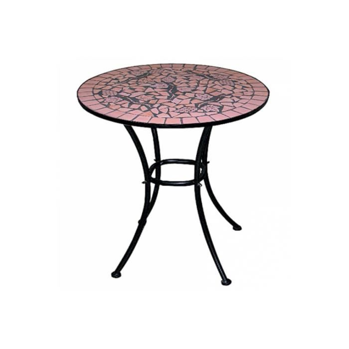 Table de jardin mosaique 60cm achat vente table de jardin table de jardin mosaique for Achat table de jardin mosaique