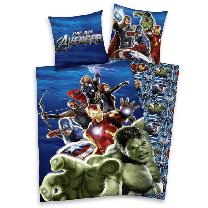 the avengers parure housse de couette taie achat. Black Bedroom Furniture Sets. Home Design Ideas