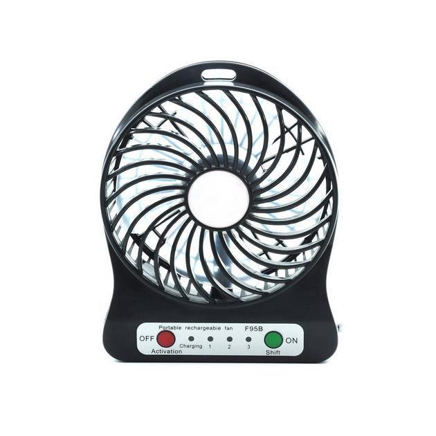 Ventilateur De LED Rechargeable Portable Dernier À La Mode Mini Batterie USB