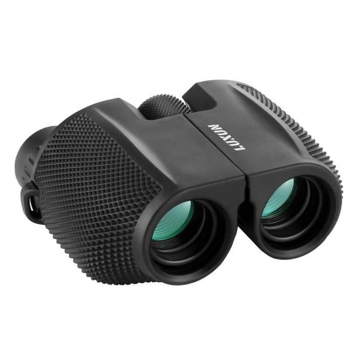 Id/éal pour Randonn/ée SGODDE T/él/éscope binoculaire l/ég/ère pliante Binocular Jumelle Zoom avec vision de nuit pour tous les t/él/éphones Observation des Oiseaux Camping 10 x 25 Jumelles binoculaires