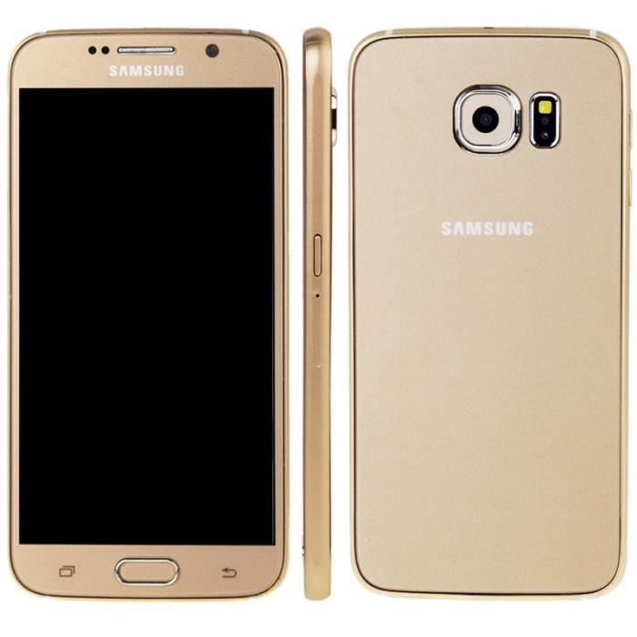 t l phone factice samsung galaxy s6 g920 gold achat. Black Bedroom Furniture Sets. Home Design Ideas