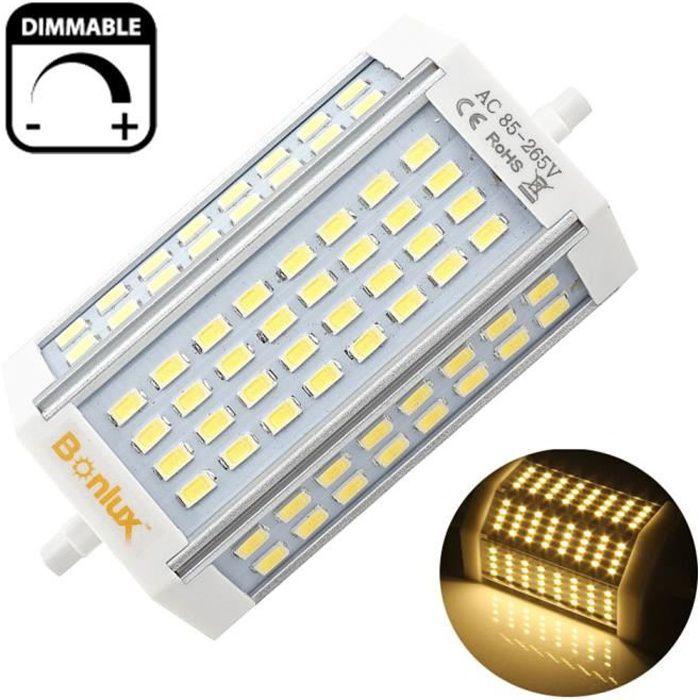5X Energy Saving Lampe Linéaire Halogène Lampe R7s lampe de projecteur ampoule 80 W à 400 W