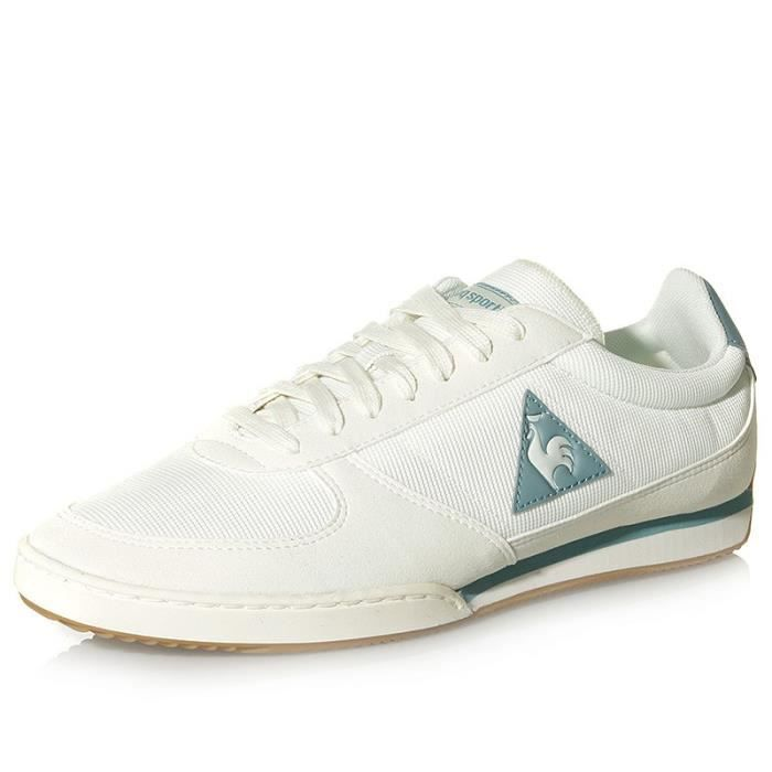 Chaussures Volley Gum Blanc Homme Le Coq Sportif