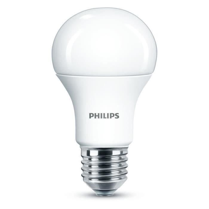 ampoule led philips e27 achat vente ampoule led philips e27 pas cher les soldes sur. Black Bedroom Furniture Sets. Home Design Ideas