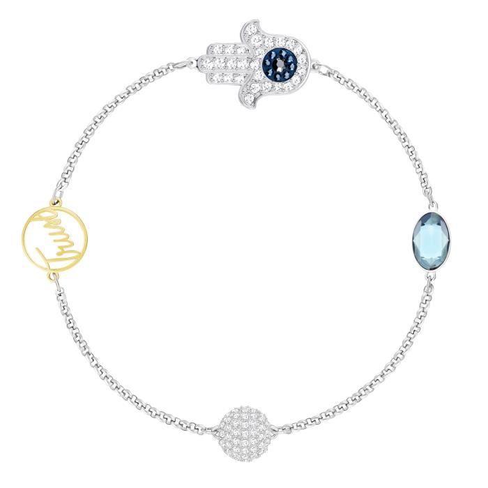 Bracelet Swarovski Collection Remix Boundless bleu