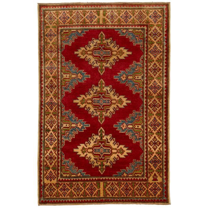 tapis d 39 orient nou main kazak 56 multicouleur 100x150 par unamourdetapis achat vente. Black Bedroom Furniture Sets. Home Design Ideas