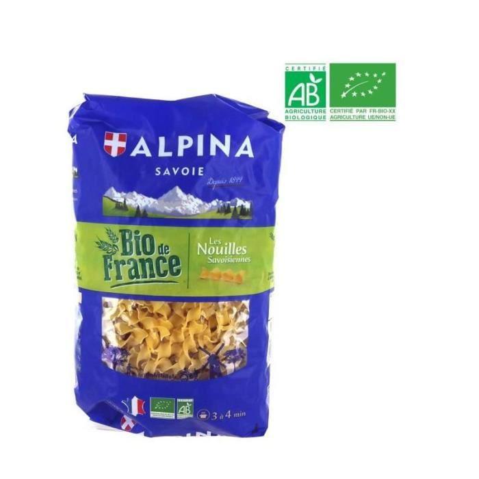PÂTES ALIMENTAIRES ALPINA Nouilles Savoisiennes Bio - 500 g