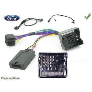 Pour JVC complet avec interface specifique COMMANDE AU VOLANT Fiat Panda 2012-