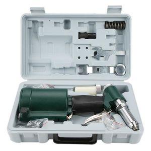 RENNICOCO Pistolet /à Riveter Trousse /à Outils pour Rivet Trousse /à Adaptateur pour Outil de rivetage Pince /à Riveter sans Fil Ecrou /électrique