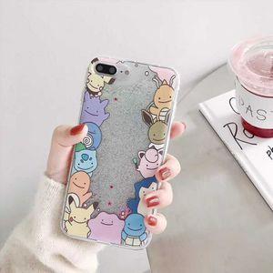 COQUE - BUMPER Coque, iPhone7, Magnifique 2 Dessin animé Doraemon