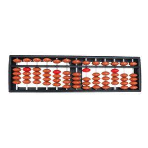 BOULIER Portable 13 Tiges En Plastique Arithmétique Boulie