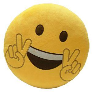 COUSSIN YXP70322648B Mignon Emoji Coussin Emoticon Forme C