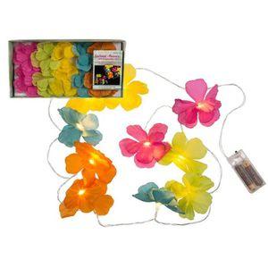 GUIRLANDE LUMINEUSE INT GUIRLANDE FLEURS LUMINEUSES 160 CM  Multicolore