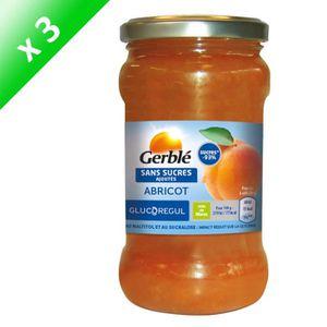 CONFITURE - MARMELADE GERBLE Confiture à l'abricot sans sucres ajoutés -