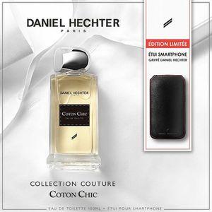 COFFRET CADEAU PARFUM DANIEL HECHTER Coffret Parfum Coton Chic avec Etui
