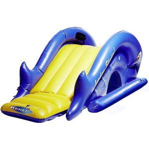 TOBOGGAN Toboggan gonflable piscine