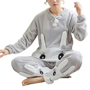 COMBINAISON Minetom Femme Ensemble de Pyjamas Animal Dessin Mi