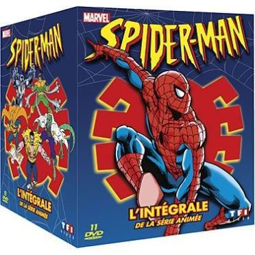 Dvd spider man en dvd dessin anim pas cher christopher daniel barnes roscoe lee browne sara - Dessins animes spiderman ...