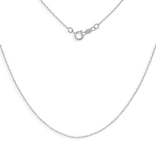 Chaine De Cou Vendue Seule Women's Solid 14k Gold 16-22 Inch Carded Rope Chain Necklace (yellow Or White) YSR45